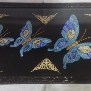تابلو پروانه میناکاری