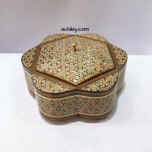 شکلات خوری خاتم کاری اصفهان