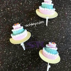 آویز حوله طرح کاپ کیک