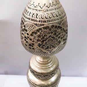 چراغ حبابی رومیزی طرح نقره